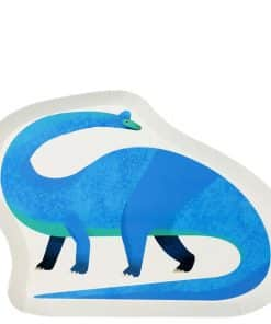Little Dino Party Shaped Plates