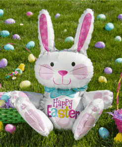 Easter Sitting Bunny Balloon