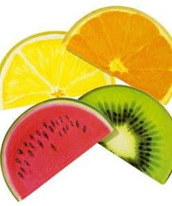Tropical Fiesta Fruit Slice Plates