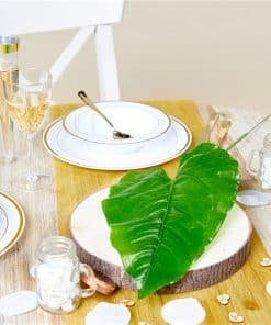 Tropical Leaf Decoration