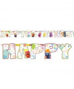 Ugly Dolls Party Add-an-Age Letter Banner