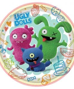 Ugly Dolls Party Paper Plates