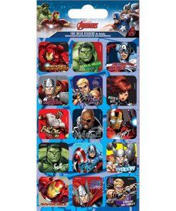 Avengers Foil Caption Stickers