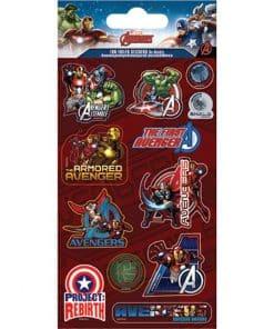 Avengers Foil Stickers