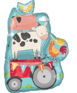 Barnyard Birthday Balloon