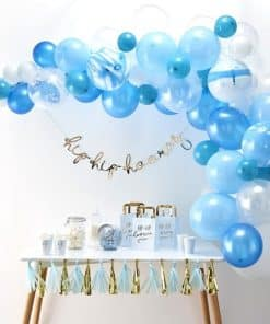 Blue Balloon Arch