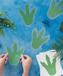 Dinosaur Footprint Stickers
