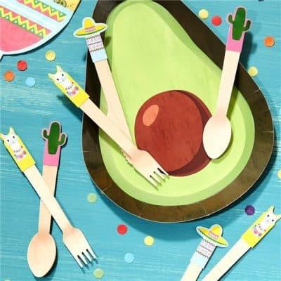 Fiesta Wooden Cutlery