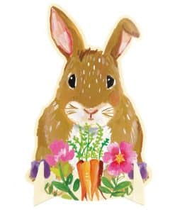 Floral Easter Bunny Centrepiece
