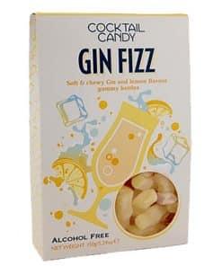 Gin Fizz Flavoured Gummy Bottles