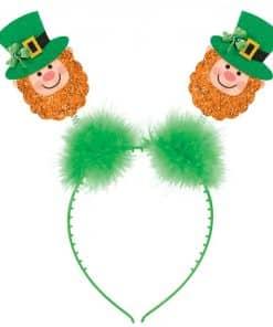 Glitter Leprechaun Headband