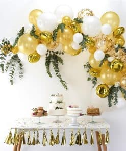 Gold Balloon Arch