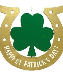 Happy St Patrick's Day MDF Hanging Sign