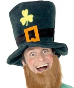 Leprechaun Foam Hat with Beard