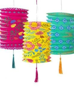 Mexican Boho Paper Lanterns
