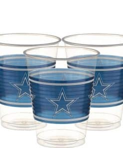 NFL Dallas Cowboys Plastic Cups