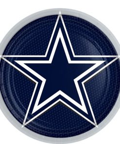 NFL Dallas Cowboys Plates
