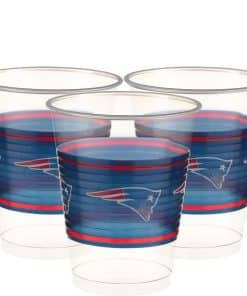 NFL New England Patriots Plastic Cups