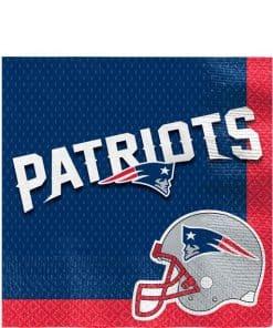 NFL New England Patriots Napkins