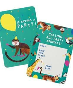 Party Animals Invitations