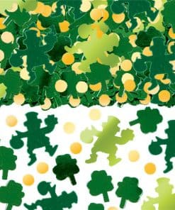 St Patrick's Day Big Pack Of Shamrocks Table Confetti