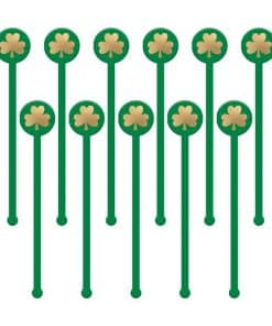 St Patrick's Day Cocktail Stirrers