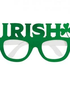 St Patrick's Day Foil Party Glasses