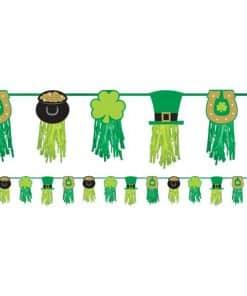 St Patricks Day Tissue Garland