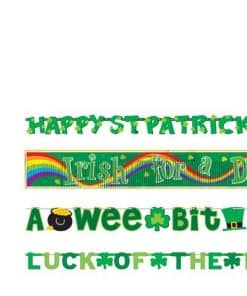 St Patrick's Day Value Banner Pack