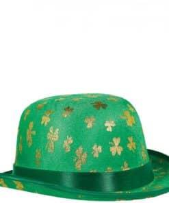 St Patrick's Shamrock Derby Hat