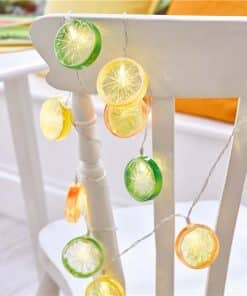 Tropical Fiesta Fruit Slice String lights
