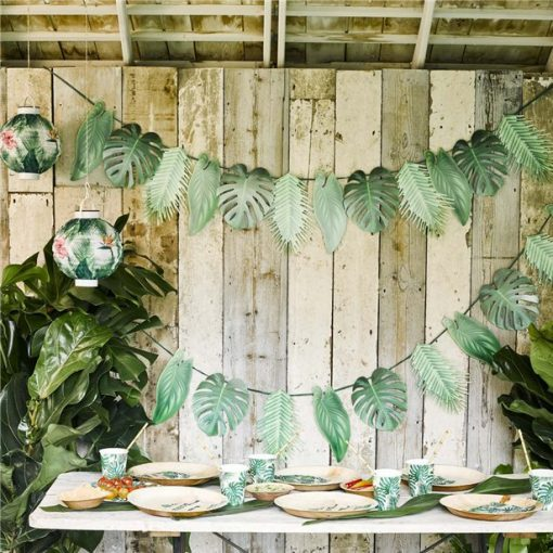 Tropical Fiesta Palm Garland