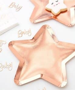 Twinkle Twinkle Rose Gold Star