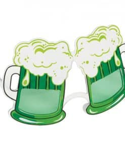 Green Beer Glasses