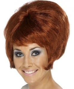 60's Beehive Wig - Auburn