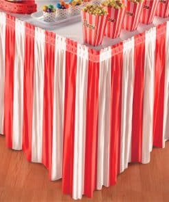 Circus Carnival Table Skirt