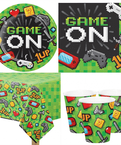 Game On Party Pack for 8