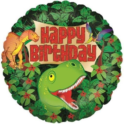 Holographic Dinosaur Balloon