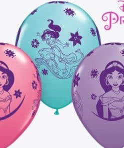 Aladdin Themed Party Decorations Jasmine Balloons Next Day Delivery