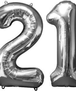 Milestone Number Foil Balloons