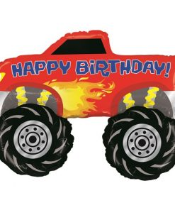 Monster Truck Large Balloon