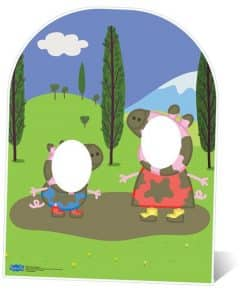 Peppa Pig Stand In Photo Prop