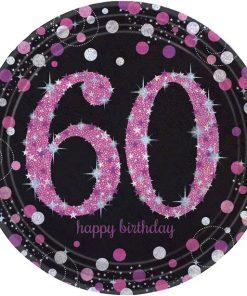 Pink Celebration Age 60