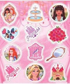 Princess Stickers Sheet