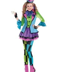Sassy Mad Hatter Child and Teen Costume