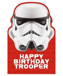 Stormtrooper Birthday Card