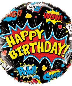 Superhero Birthday Balloon