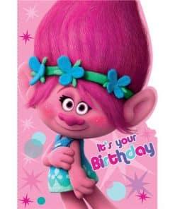 Trolls Birthday Card