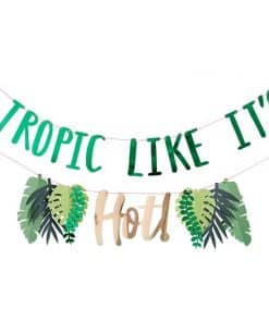 Tropic Like Its Hot Tiered Banner