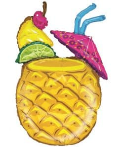 Tropical Pineapple Cocktail Balloon